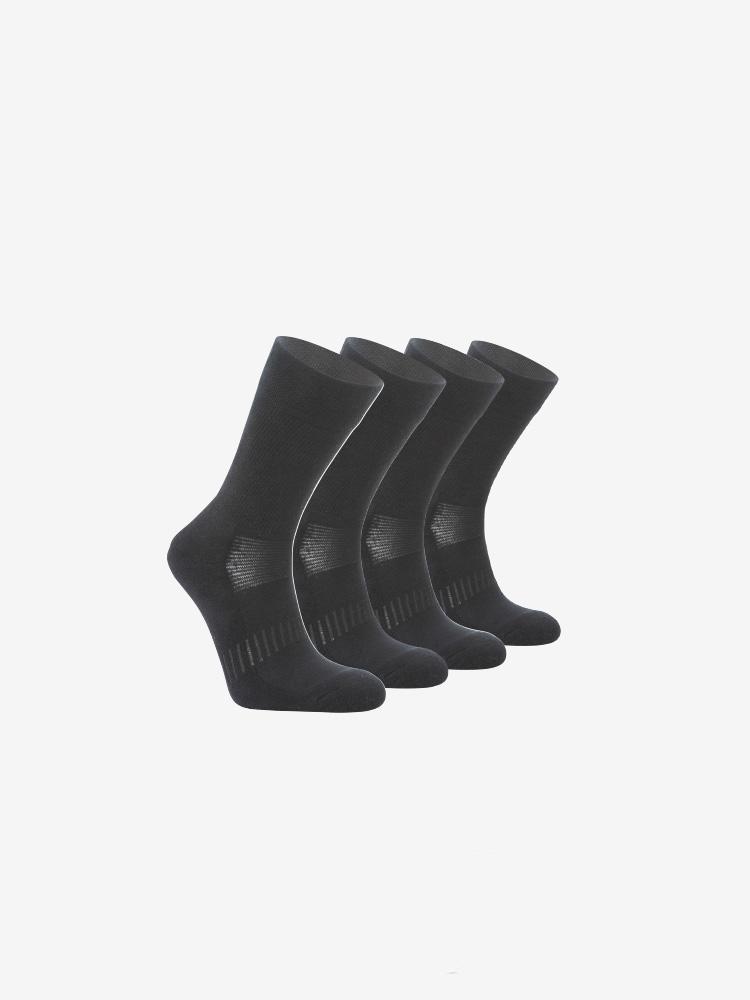 4-PACK ULTRA PERFROMANCE SOCKS, BLACK