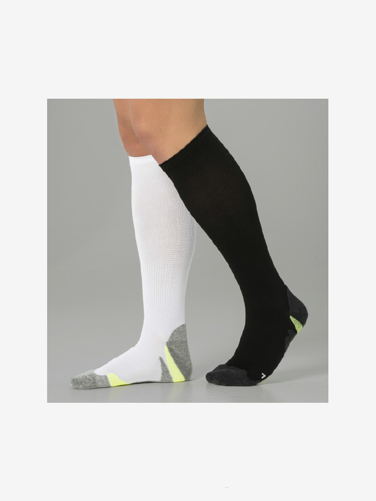 2-PACK COMPRESSION PERFORMANCE RUN BLACK & WHITE