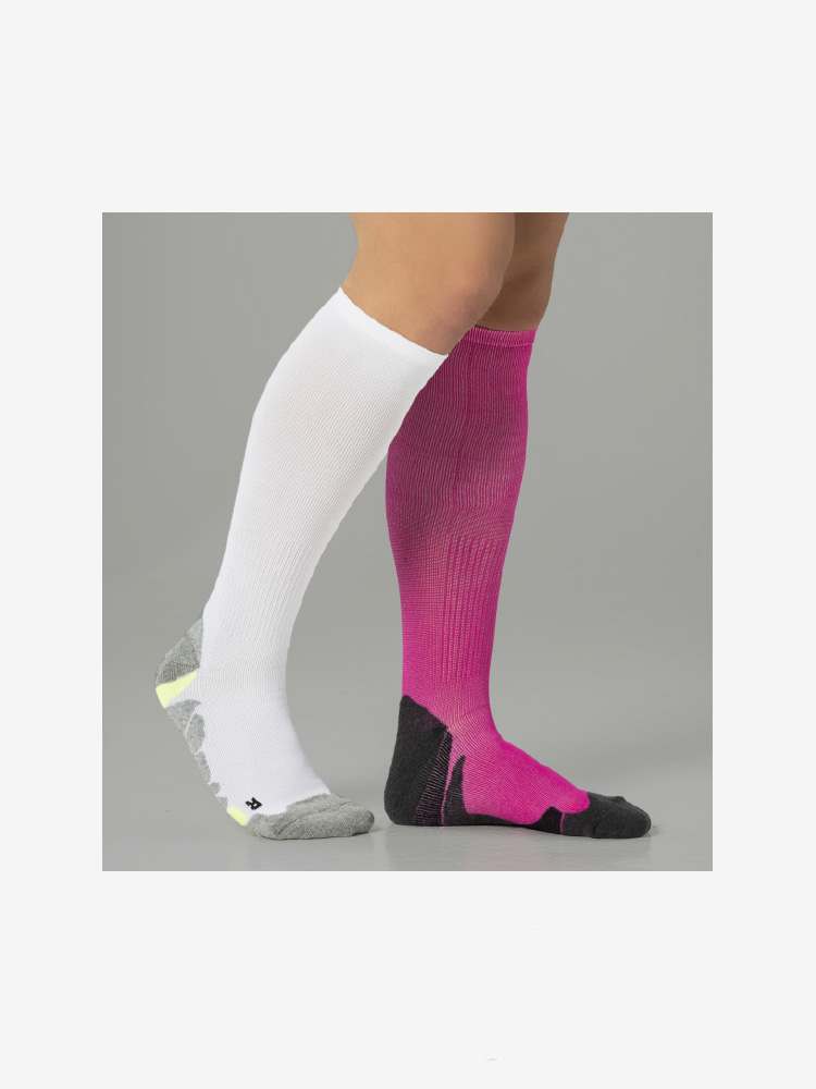 2-PACK COMPRESSION PERFORMANCE RUN PINK & WHITE